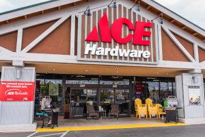 Ace Hardware storefront