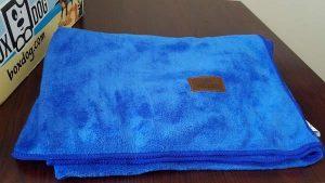 BoxDog Microfiber Blue Towel