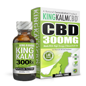 King Kalm 300 mg bottle