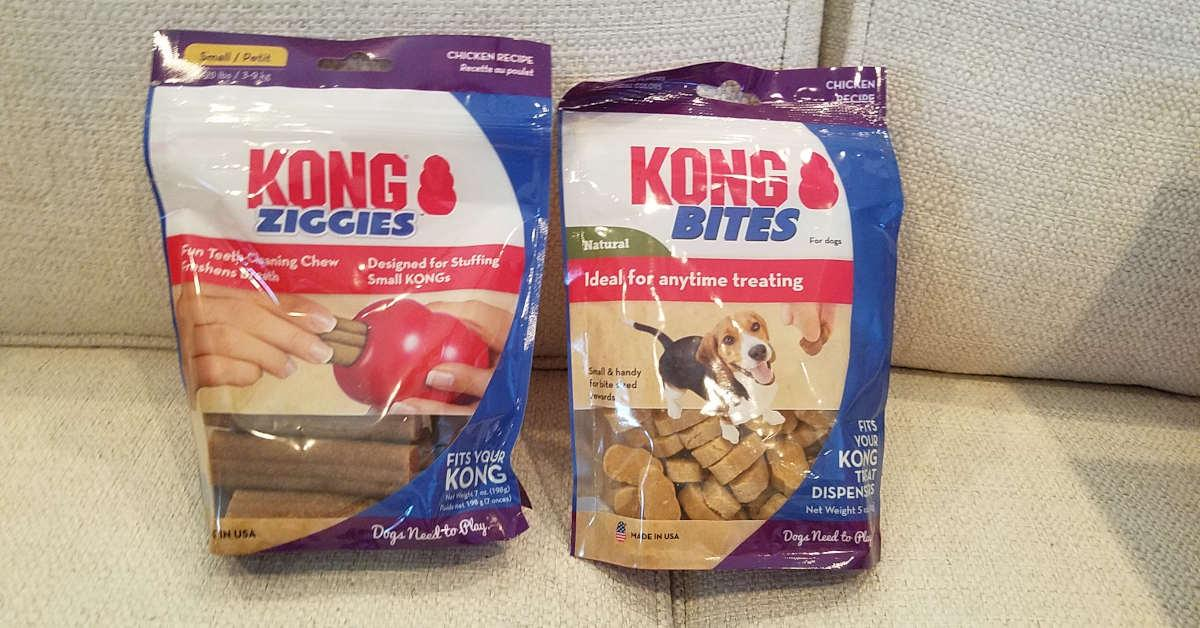 Kong Ziggies and Bites
