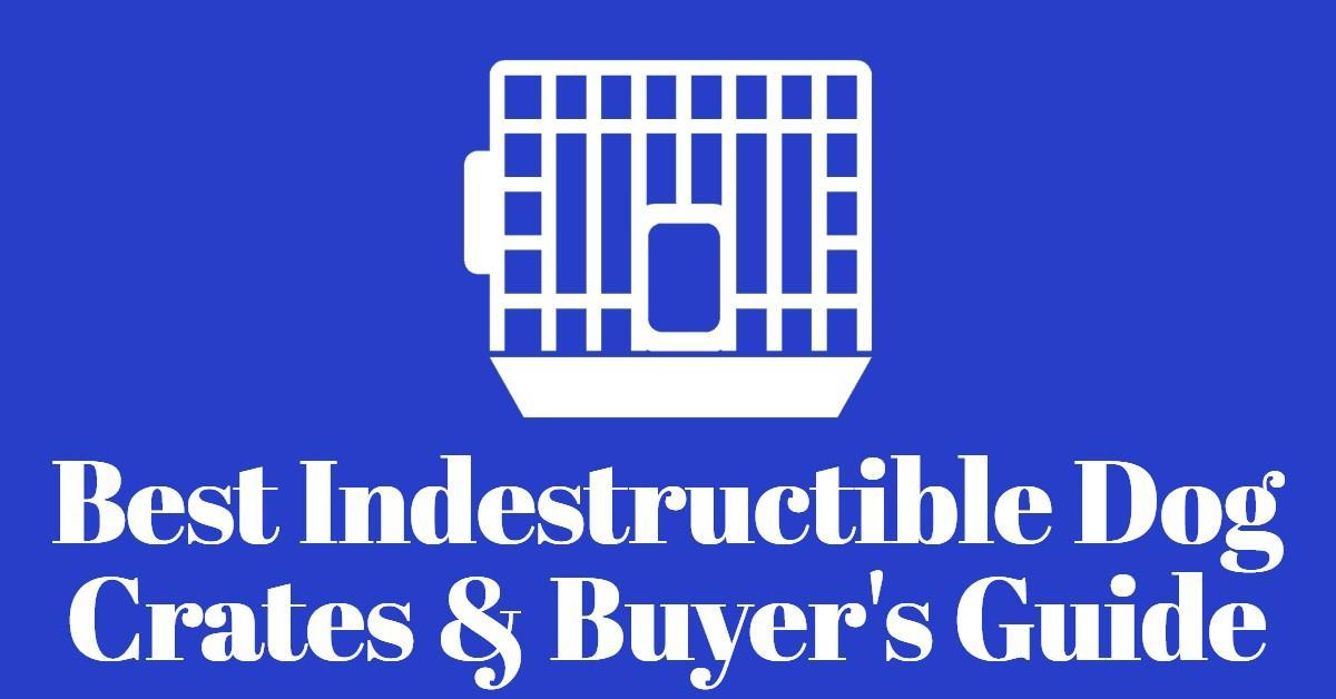 Indestructible dog crates