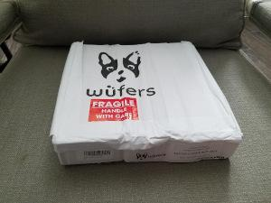 Wufers delivered box