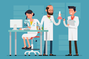Scientists studying methylation of dog dna