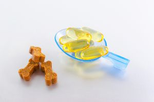 Omega-3 supplements and treats