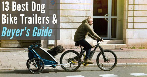 13 Best Dog Bike Trailers and Buyer's Guide